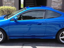 2005 Vivid Blue Pearl Acura RSX Type-S