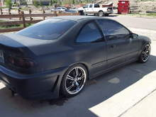 My husband bad azz Civic (Posted Pictures)