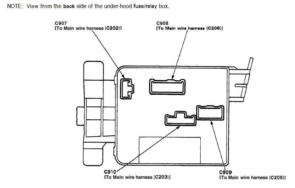 fuel pump  main relay problem