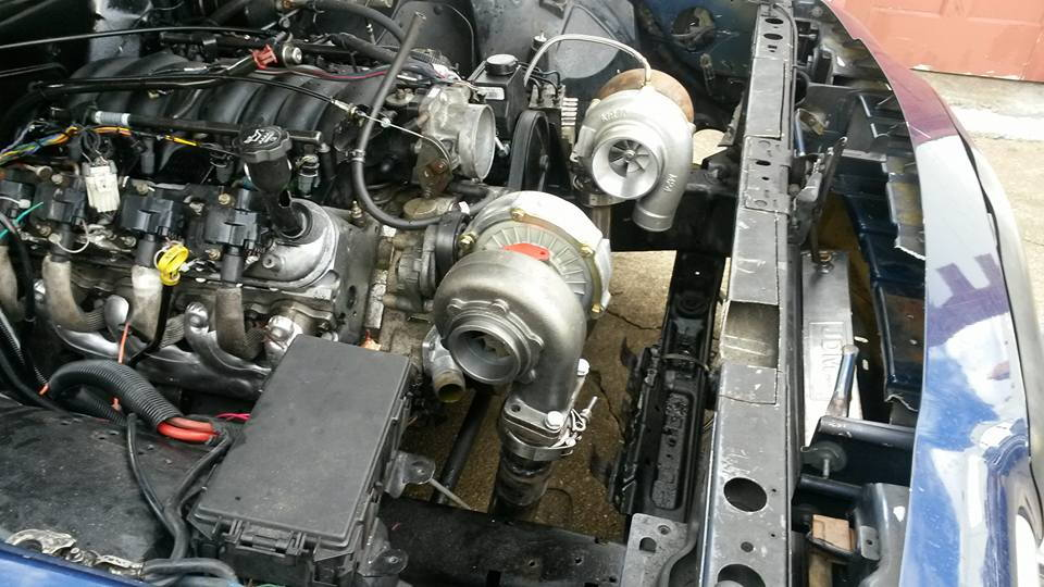 twin turbo ls1 ford crown victoria