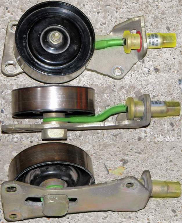 Pulley Tensioner Noise : Loose tensioner pulley noise wroc awski informator