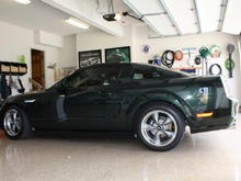 Pics of 2008 Bullitt after suspension install