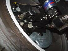 Strange Engineering 10-Way Adjustable Shocks Maximum Motorsports Stainless Braided Brake Line