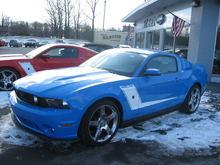 Garage - 2010 Roush Mustang 427 R Coupe Grabber Blue