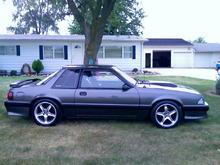 my 1990 notchback