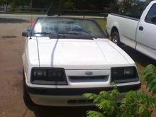 1986 Mustang LX Convertible