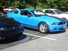 Good looking 2010 grabber blue