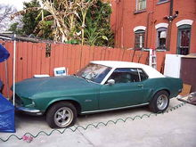 Picture that was in the add on craigslist.  Bought for $1200 ran but had no oil pressure.