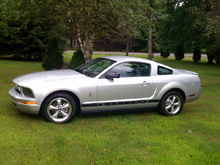 2008 Mustang with pony package