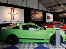 2013 Shelby GT350 Makes First Appearance at Monterey Motorsports Reunion
