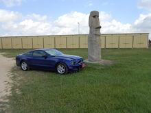 Garage - Blue Oval