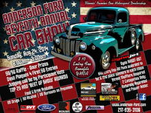Anderson Ford car show in Clinton IL