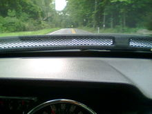 Hood from Driver's Seat