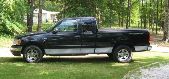 My 99 F-150XLT. All the bells and whistles of the Lariat, without the leather...or the V8.