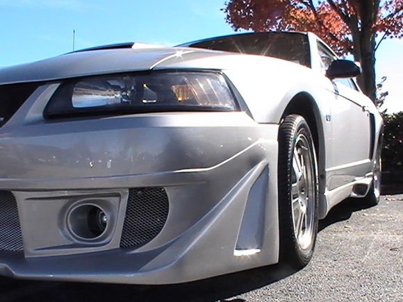 My 2003 GT, project....GTR front bumper, K-series Sides, 05 17's...smoking hot GT....SilverOne03..