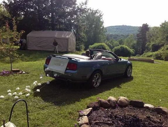 Mustang Wedding (1)