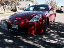 "2003 350z Touring, a.k.a. ""Red"""