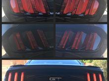 Tail light tint transformation
