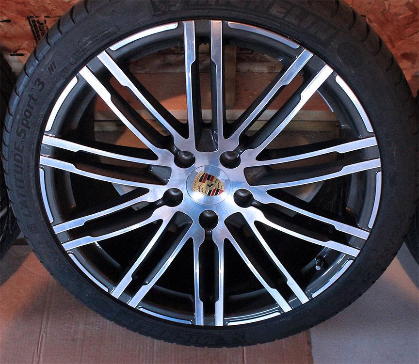 """FS: OEM Porsche Cayenne 958 21"""" Turbo Design Wheels Rims"""