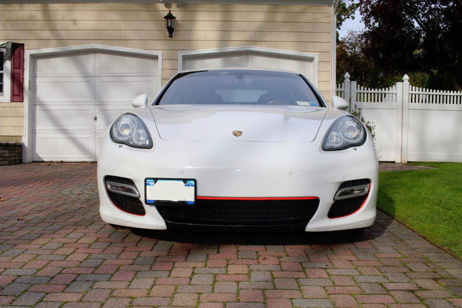 2010 panamera turbo   white expresso   40k miles   loaded to the teeth