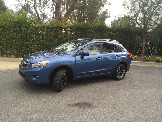 2014 Subaru XV Crosstrek side