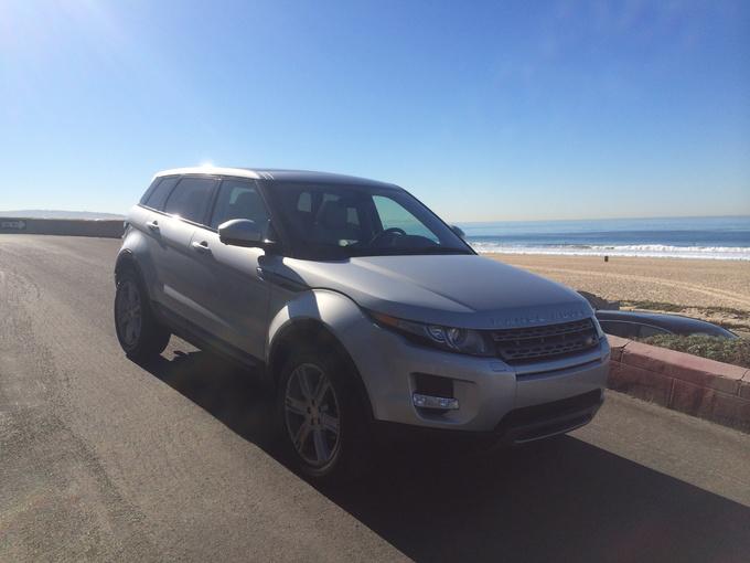 2014 Land Rover Range Rover Evoque quarter front