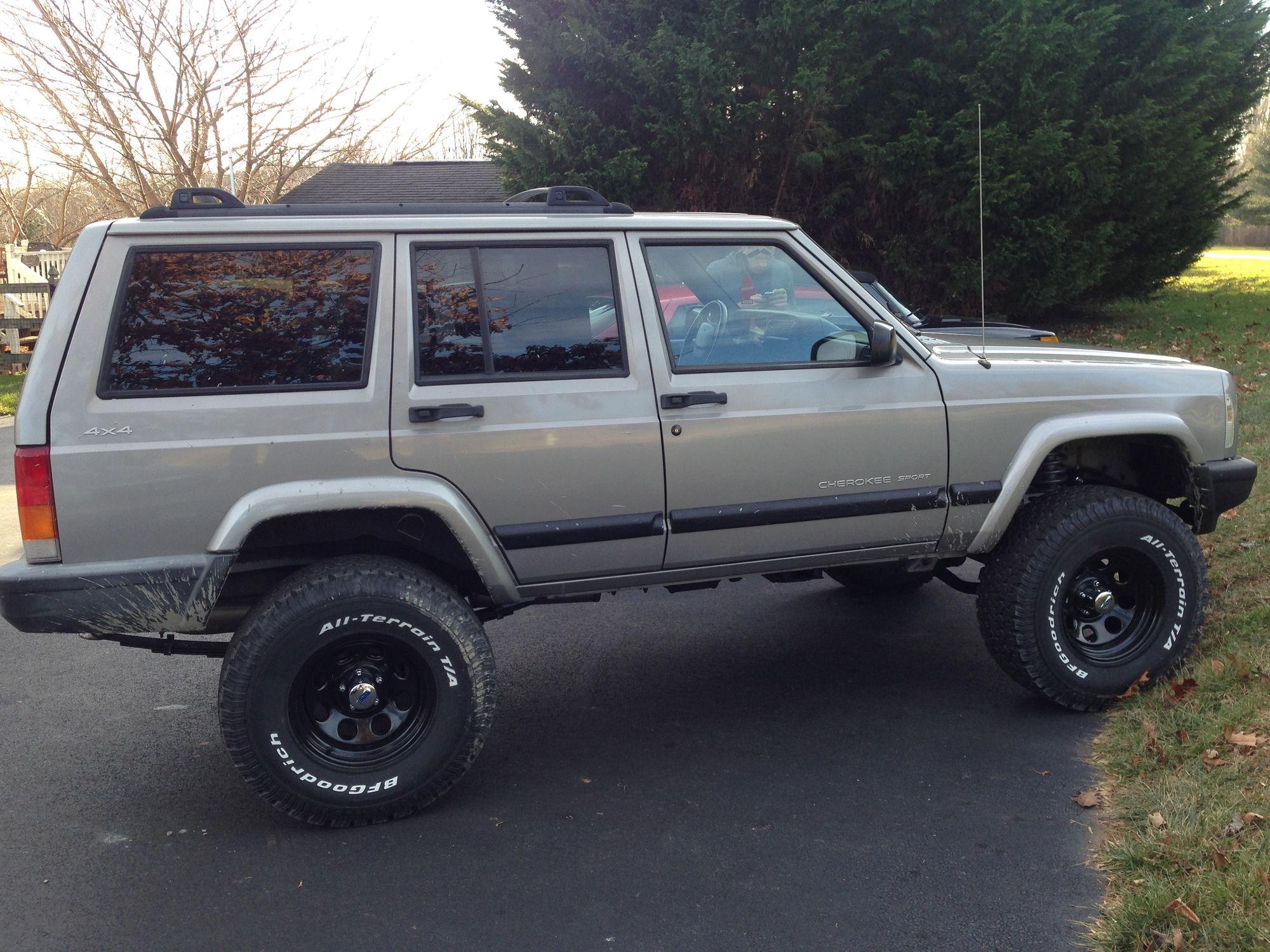 Silver 2001 Xj Cherokee Sport Build Jeep Cherokee Forum