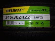 My 2000 Lexus LS400: The Delinte D7 Thunder 245/30ZR22 95W XL