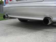 Mufflers rear angle