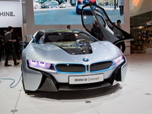 BMW i8 Concept front 2