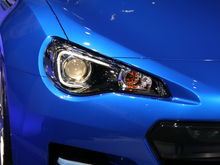 Subaru BRZ Concept STI head