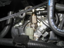 High pressure fuel pump bank 1