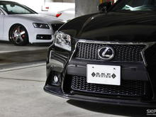 Front lip spoiler(Black carbon) / Front bunper garnish(Black carbon)