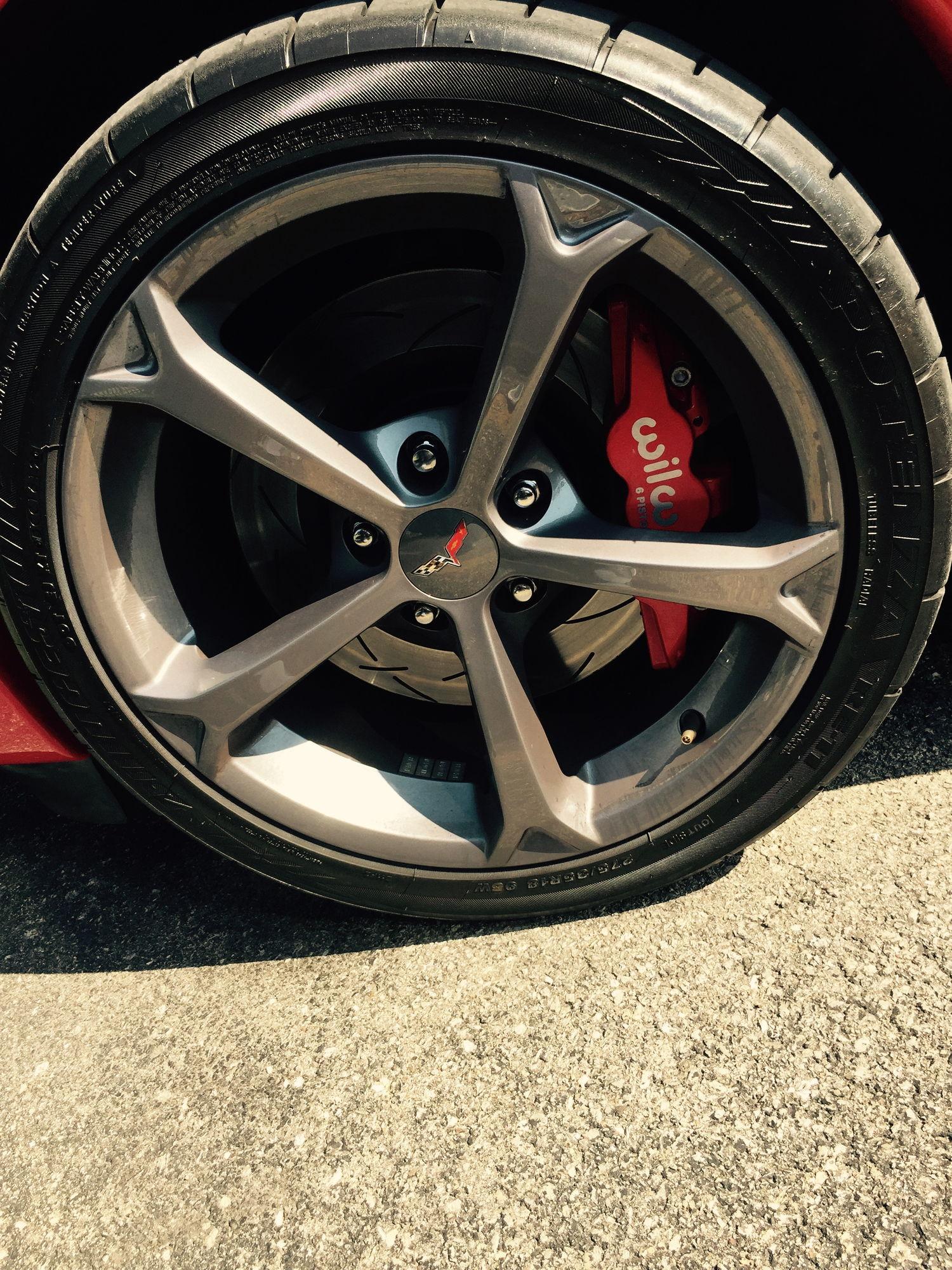 C5 Corvette Hawk Brake Pads >> Wilwood Aero 6 brake kit - installed and review - CorvetteForum - Chevrolet Corvette Forum ...