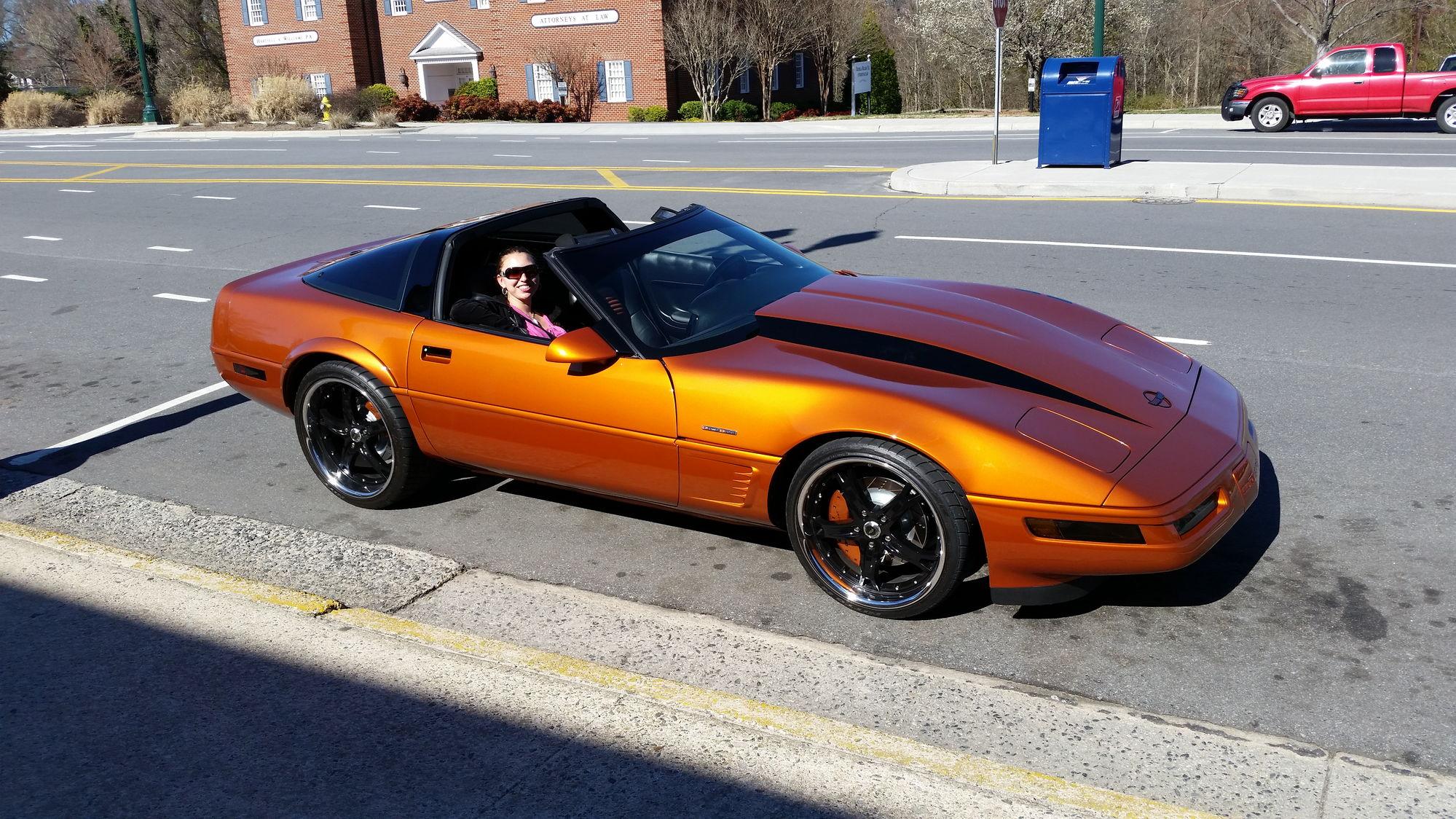 Corvette fender flares