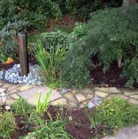 Water Feature ,Basalt column fountain