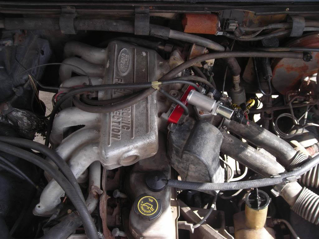 Ford 300 Inline 6 : Ford inline efi conversion