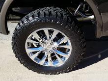 Mastercraft MXT 35x20x12.5 tires