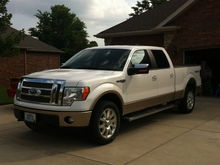 My truck I traded for a raptor