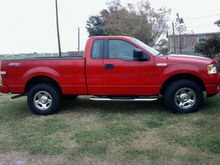 Before the leveling kit