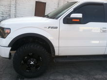 18 inch XD Rockstar rims and Nitto Trail Grapplers
