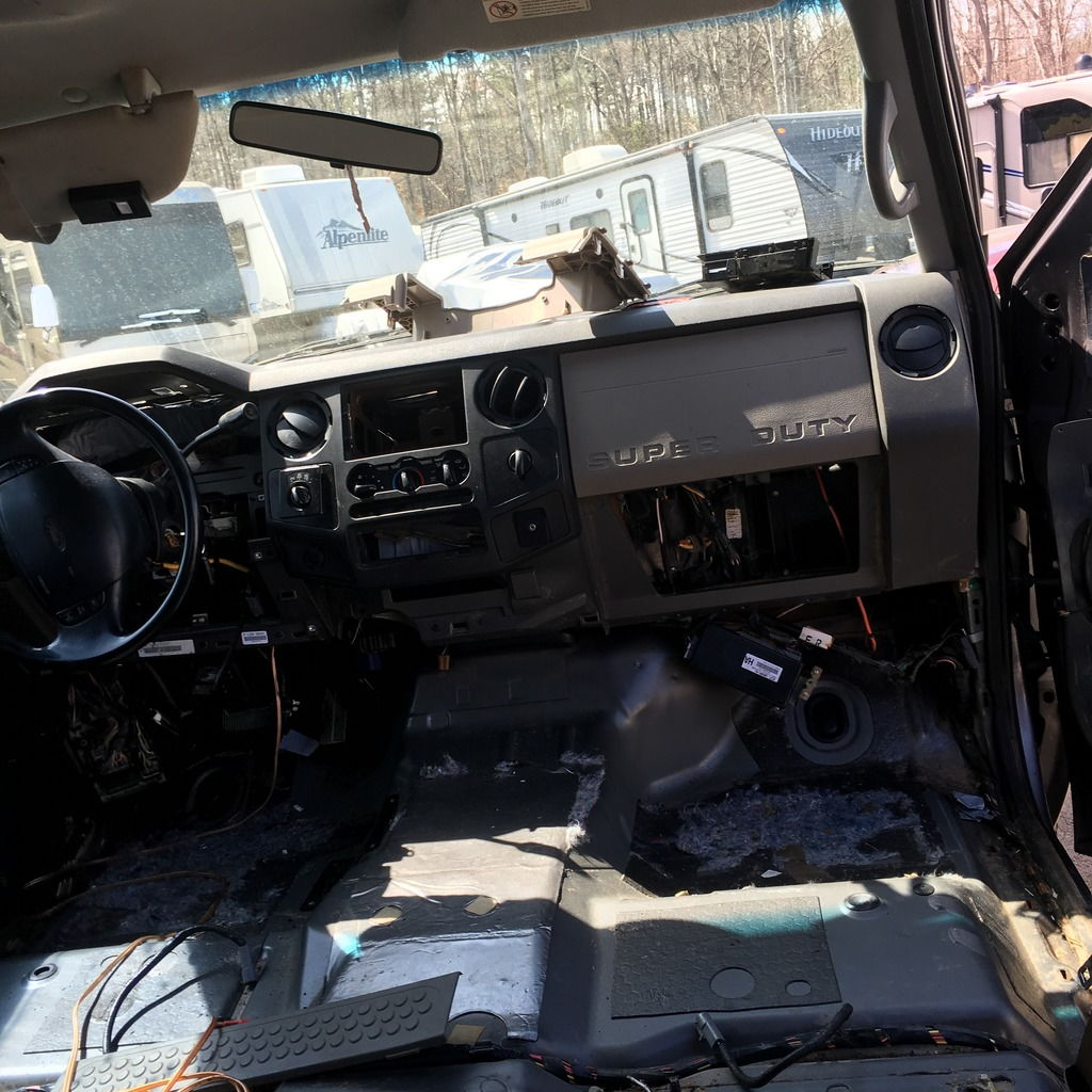 04-08 Super Duty Firewall Differences (for Dash Swap