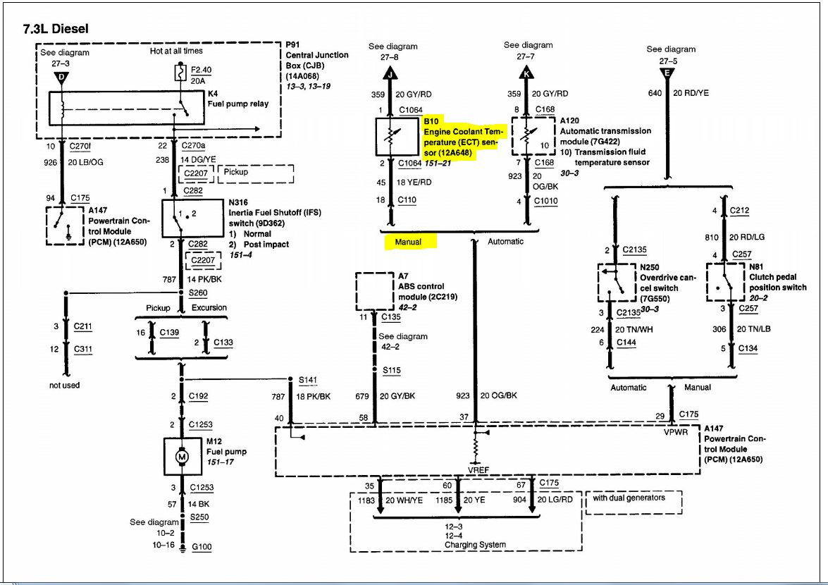 4 8 Silverado Engine Diagram likewise Cadillac Northstar Engine Starter Location moreover P 0996b43f80376cdb furthermore 06 Impala Coolant Temp Sensor Location moreover Oil Pressure Sending Unit Location 90996. on ford 4 6 oil pressure switch location