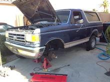 1989 Ford Bronco, 5.8l