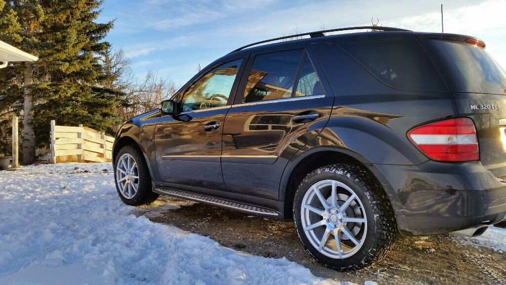 19 wheels bad dirt roads and offroad page 2 for Mercedes benz ml320 tires