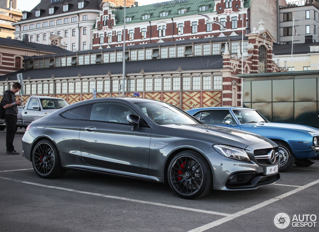 Mercedes Amg C63s Coupe In Selenite Grey Pics Page 15