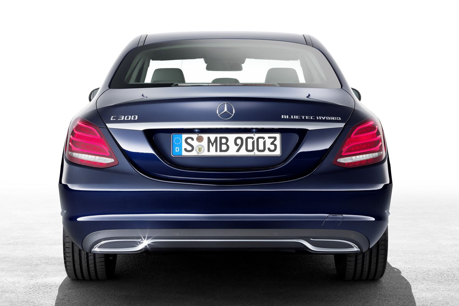 Fake exhaust tips on c200 forums for Mercedes benz c300 exhaust