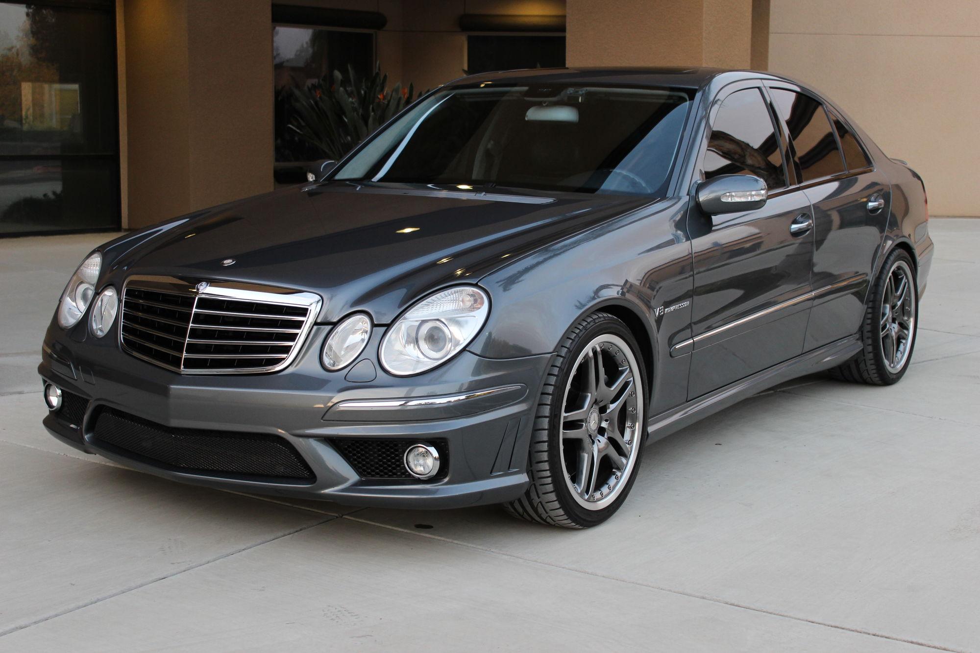 2006 mercedes e55 amg flint grey keyless go dynamic seats bixenon 67k miles mbworld org forums