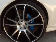 Mercedes Caliper Covers
