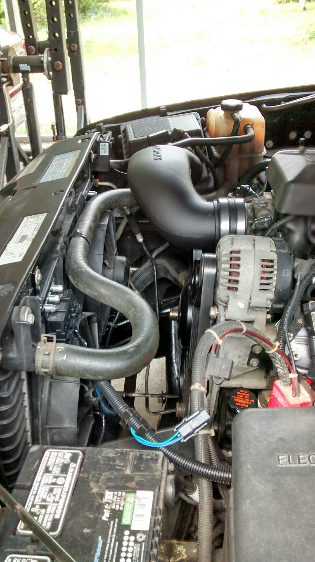 NBS Truck with NNBS intake. Which intake tube fits w/stock ...